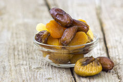 Different dried fruits Royalty Free Stock Image