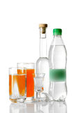 Different drinks Stock Images