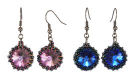 Different Earrings Stock Photography