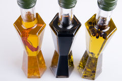 Different edible oils Royalty Free Stock Image