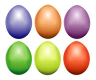 Different eggs Royalty Free Stock Photo