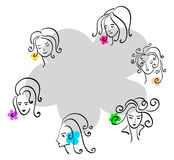 Different emotions Royalty Free Stock Images