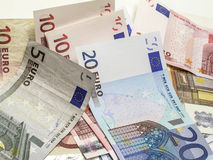 Different euro currency Stock Images
