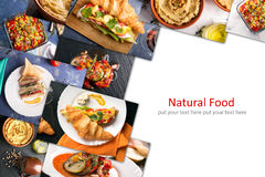 Different European Food Stock Image