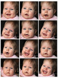Different expression Royalty Free Stock Images