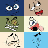 Different expressions Stock Image