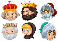 Different fairytale characters for male Royalty Free Stock Photography