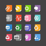 Different file types icons Royalty Free Stock Images