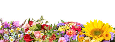 Different flower bouquets Stock Image
