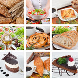Different food composition Stock Image