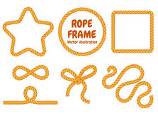 Different frame ropes Stock Photo