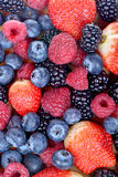 Different fresh berries as background Stock Photography