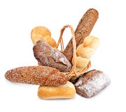Different fresh bread Stock Images