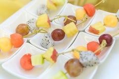 Different fresh fruit arranged Stock Image