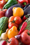 Different fresh vegetables Royalty Free Stock Photos