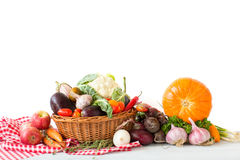 Different fresh vegetables Royalty Free Stock Images