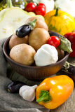 Different fresh vegetables in the bowl Stock Image