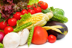 Different fresh vegetables Royalty Free Stock Image