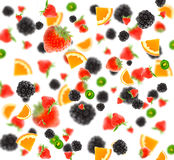 Different  fruit and berries Royalty Free Stock Photo