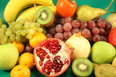 Different fruits Stock Photography
