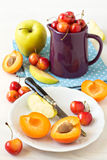 Different fruits and berries Royalty Free Stock Photography