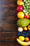 Different fruits set royalty free stock image
