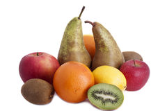 Fruit . Different fruits  on the table Royalty Free Stock Images