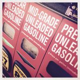 Different gasoline choices Stock Photography