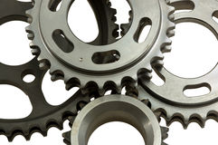 Different gear close-up Stock Photos
