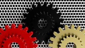 Different gears Royalty Free Stock Photo