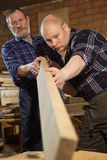 Different generations of workers Royalty Free Stock Photography