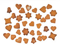 Different gingerbread Royalty Free Stock Image