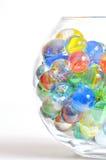 Different glass balls Stock Photo