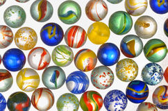 Different glass balls Stock Images