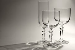 Different Glasses royalty free stock image