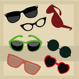 Different glasses Royalty Free Stock Photos
