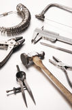 Different Goldsmith's Tools Royalty Free Stock Image