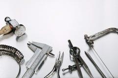Different Goldsmith's Tools Stock Photos