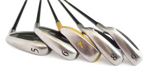 Golf Equipments. Stock Photo