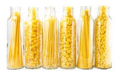 Different grades of pasta Royalty Free Stock Image