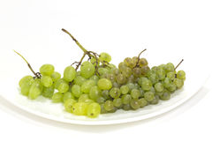 Different grape on one plate Stock Images
