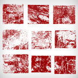 Different grunge frames vector Royalty Free Stock Photos