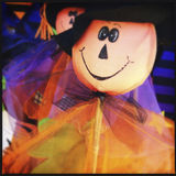 Different Halloween decorations Royalty Free Stock Photos