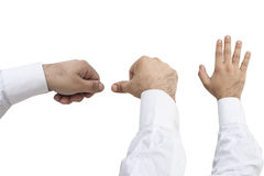 Different Hand Holding Movements Royalty Free Stock Photo