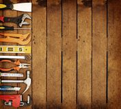 Different hand tools Stock Photos