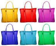 Different handbags Stock Photos
