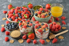 Different healthy food Royalty Free Stock Image