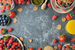 Different healthy food Royalty Free Stock Images