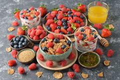 Different healthy food Stock Photos