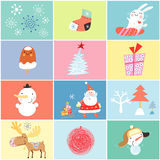 Different holiday for the new year Stock Image